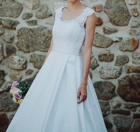 Svadobné šaty Agnes, veľ. 34-36, 36