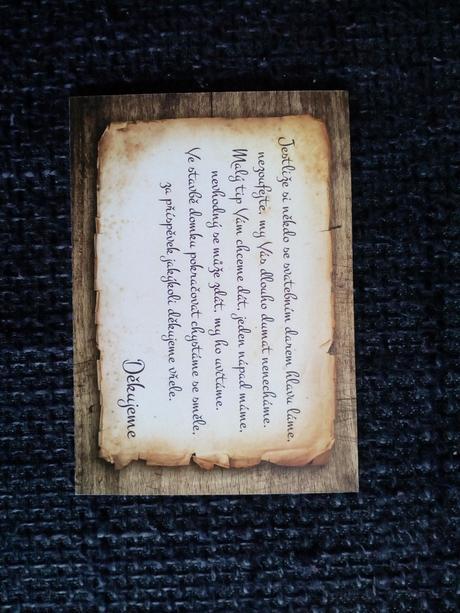 Svatebni oznámení - svatební dar,