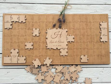 Puzzle - kniha hostů,