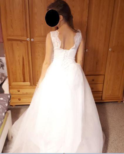 princeznovské svadobné šaty , 36