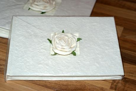 Svatební fotoalbum a kniha hostů ONE ROSE,