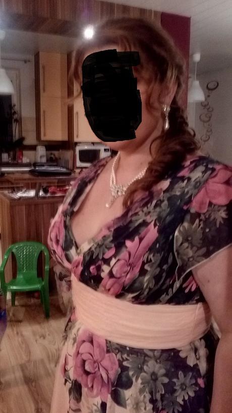 Společenské šaty- multifunkční  44-46, 46