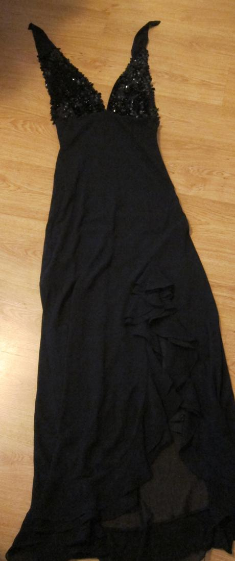 Spoločenské šaty čierne, 38