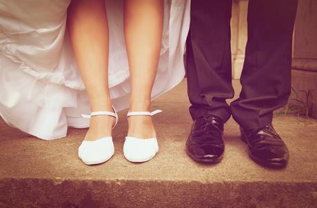 Biele svadobné topánočky č. 38, 38