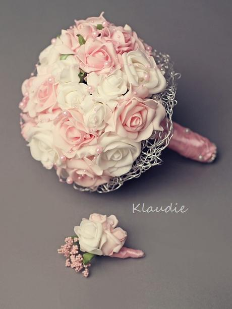 svatební kytice - velká,