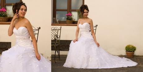 svatební šaty Aneta, 36
