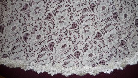 Čipkované šaty  Vintage - veľkosť 38 - 40 KE ZV, 40