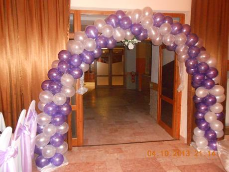 Balónový oblúk ,