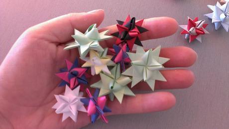Malé dekorační hvězdičky,