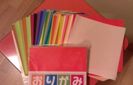 Origami papíry,