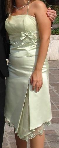 Pekné spoločenské šaty, 36
