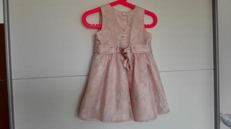 Šaty pro družičku 12-18 měsíců, 86