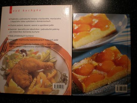 Kuchárske knihy 2 kusy - aj jednotlivo,