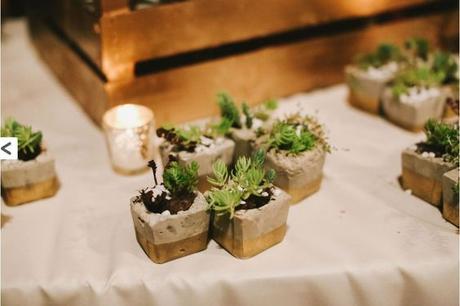 Květináček na sukulenty - dárek pro hosty,