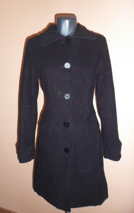 Menčestrový kabátik, L