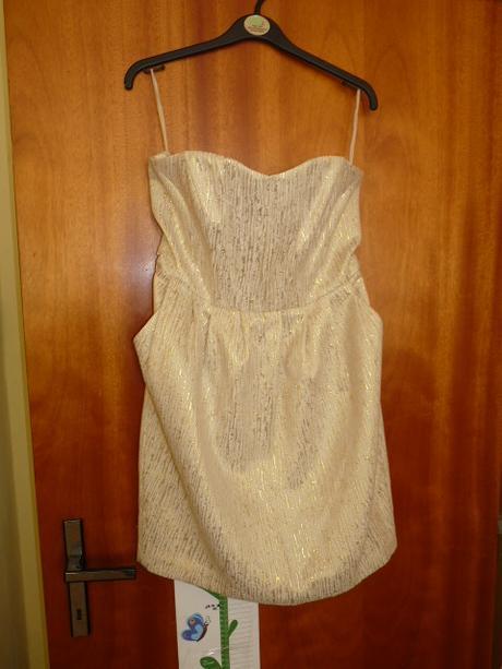 šaty popůlnoční i svatební, 38