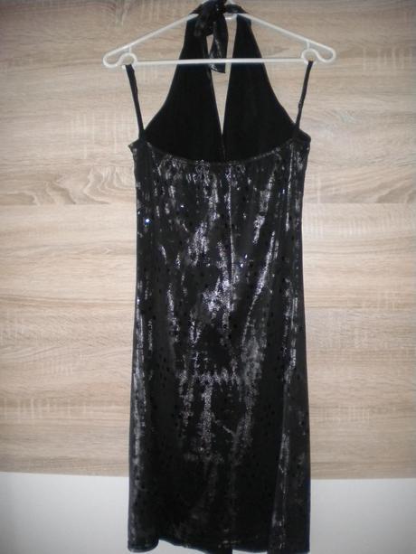 Spoločenské šaty s flitrami, M