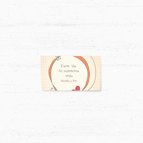 Svatební oznámení 142 - Ptáčci,