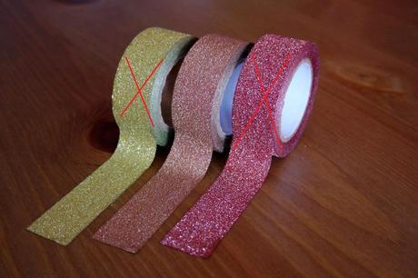 Dekorační páska třpitky - bronzová,