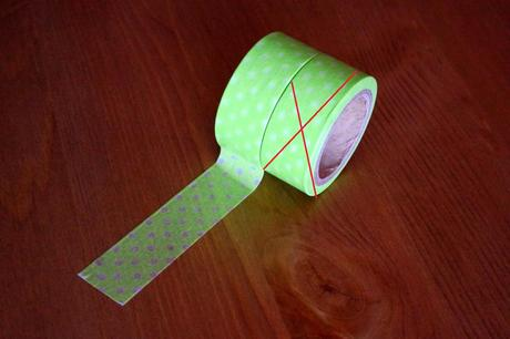 Dekorační washi páska,