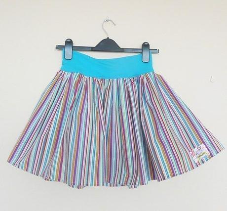 Veselá barevná sukně, L