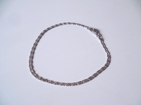 Náramek plochý se vzorem stříbro Ag 925,