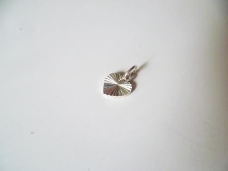 Přívěsek srdíčko srdce stříbro Ag 925,