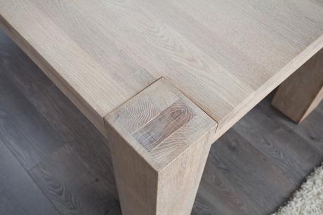 Jídelní stůl Giant Oak White,