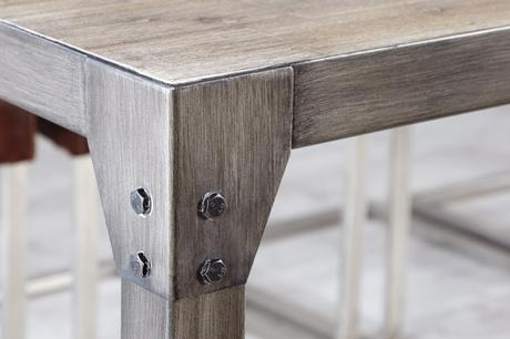 Jídelní stůl Real Steel II,
