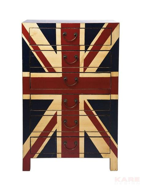 Komoda Jack 6 England,