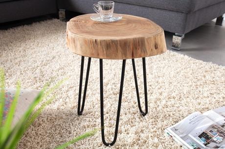 Konferenční stolek BOLE WOOD SMALL II,
