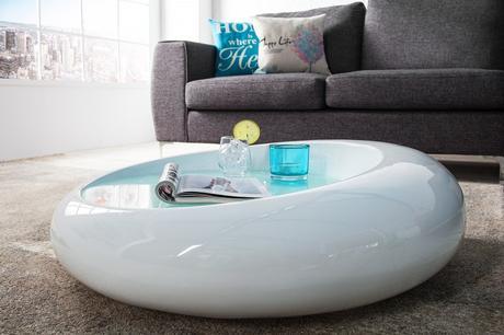 Konferenční stolek Elipse White,
