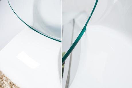 Konferenční stolek Flower Glass,