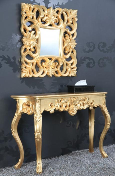 Luxusné barokové zrkadlo,