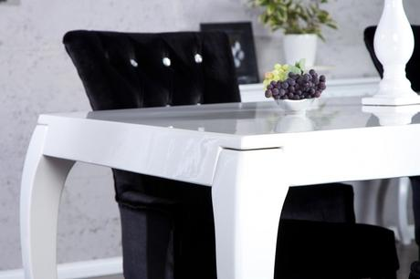 Stůl Baroco white,