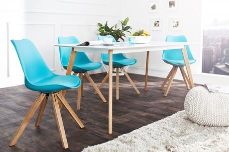 Židle Scener Chair Tyrkys,