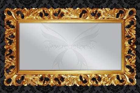 Zrcadlo Baroque gold,