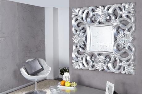 Zrcadlo Baroque S silver,