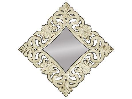 Zrcadlo Baroque XL Old Creme,