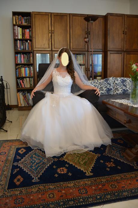 svadobné šaty 34-36, 34