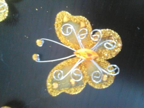 20 Ks organzových motýlků,