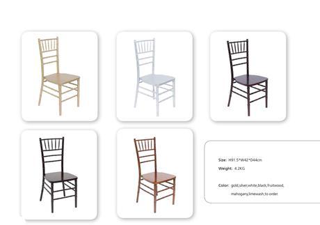 Chiavari stoličky predaj ( rôzne farby ),