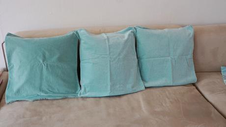 polštář povlak  50x50cm, sametová bavlna, ,