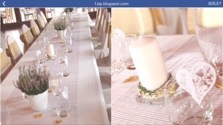 Svatební výzdoba šampaň zlatá,