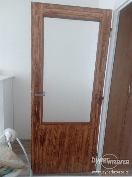 Interiérové dveře 80 - levé,