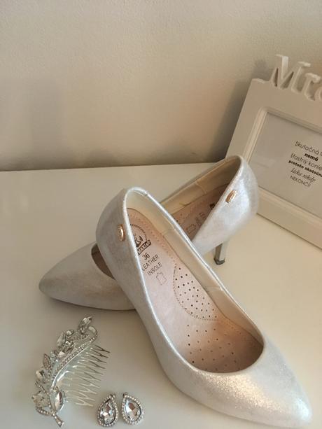 Nádherné svadobné topánky, 36