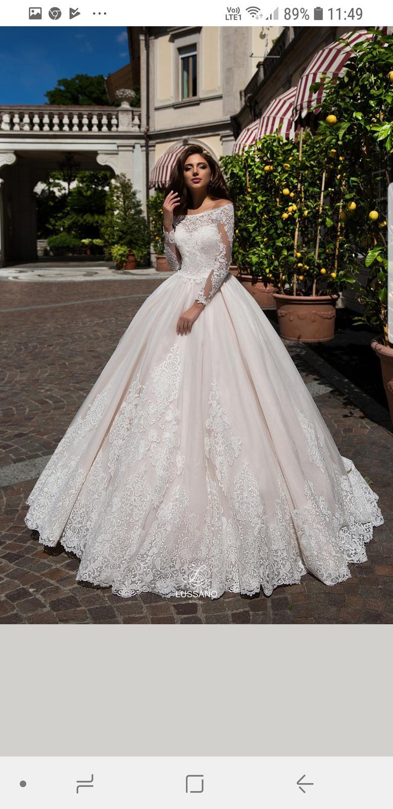 4f6290f56224 Luxusné svadobné šaty talianskej značky