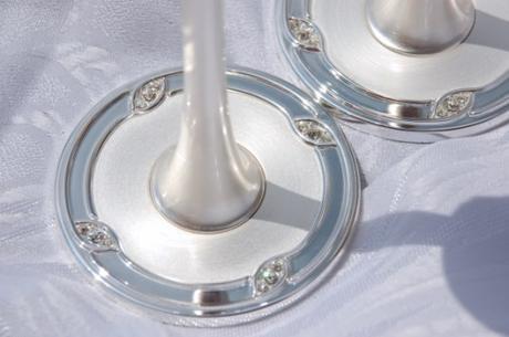 Svadobné poháre - Swarovski,