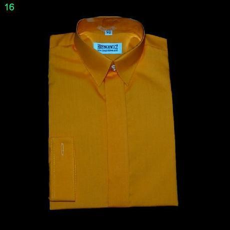 Košile s dlouhým rukávem - meruňková, 146