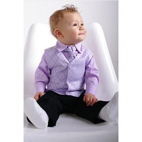 Pětidílný oblek, dostupný od 6 měsíců do 12 let, 104